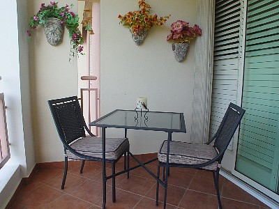 Condo Balcony Bistro Set outdoor furniture