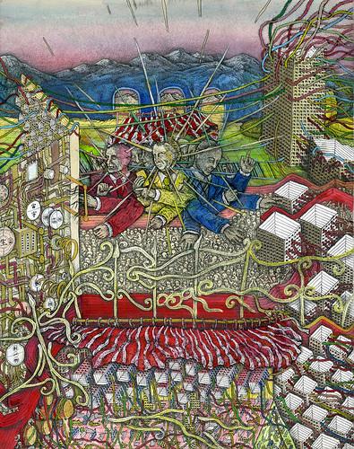 "Tadashi Moriyama ""Crammed Square"""