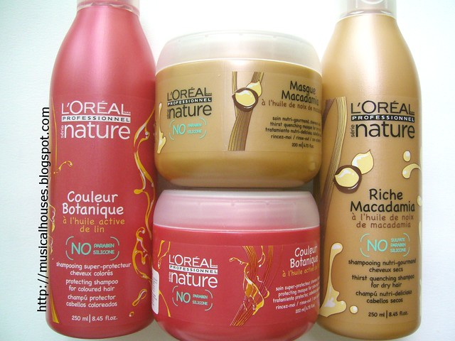 loreal professional serie nature