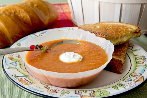 Tomato and Apple Soup