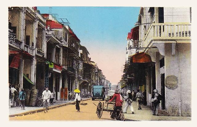 HAI PHONG - Rue Cantonnaise