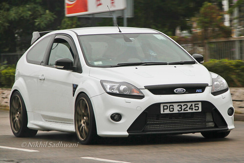 Ford Focus RS, Tai Mei Tuk, Hong Kong