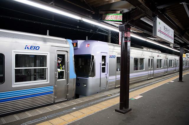 京王電鉄井の頭線3000系 クハ3778 搬出回送