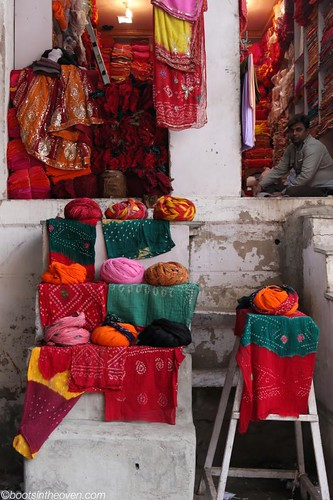 Turban and Cloth Salesman