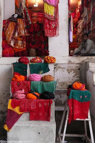 Turban and Cloth Salesman