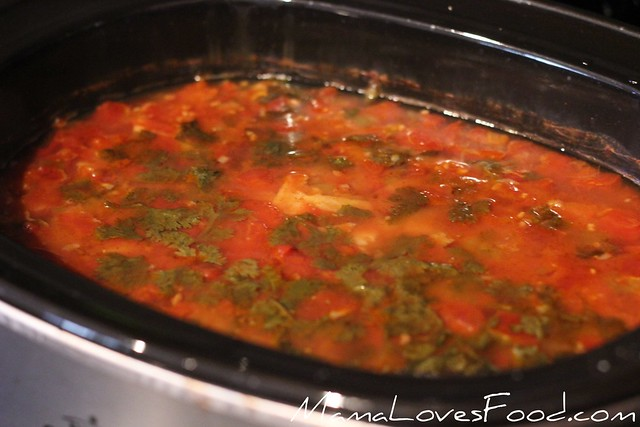 Tortilla Soup in the Crock Pot Slow Cooker