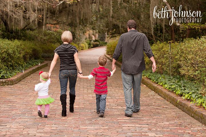 tallahassee family photographer florida maclay gardens