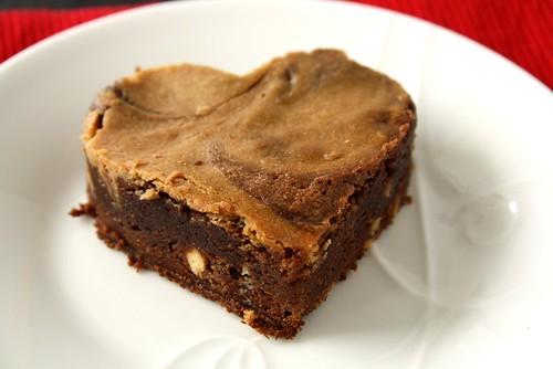 Nadia G Bitchin Kitchen's Chocolate Cheese Brownies