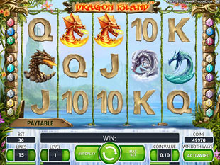 Dragon Island slot game online review