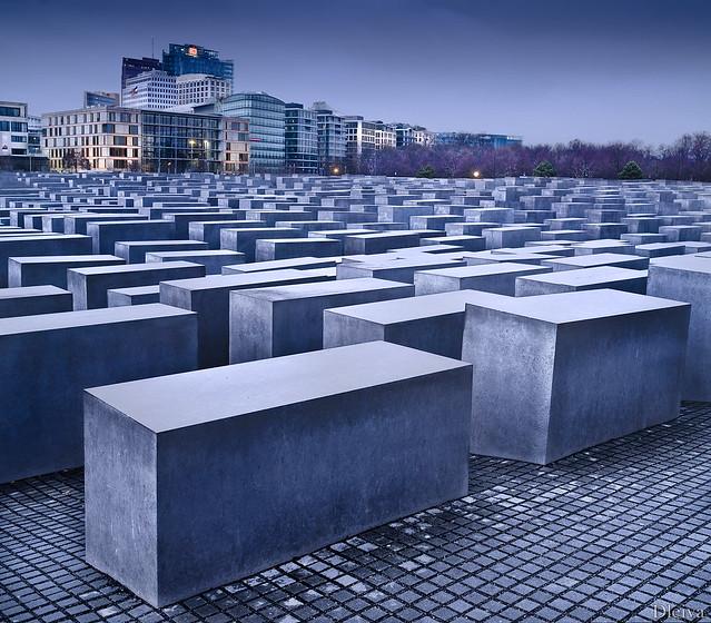 Denkmal für die ermordeten Juden Europas (Monumento al Holocausto), Berlin