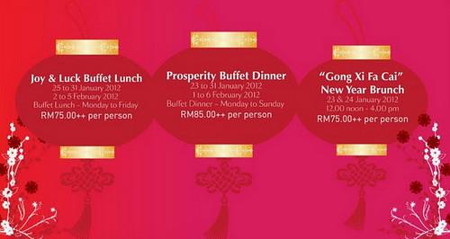 Buffet Information Dorsett KL