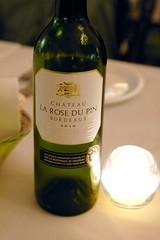 2010 Château La Rose Du Pin, Bordeaux Blanc