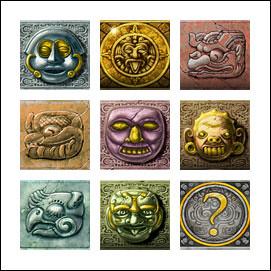 free Gonzo's Quest slot game symbols