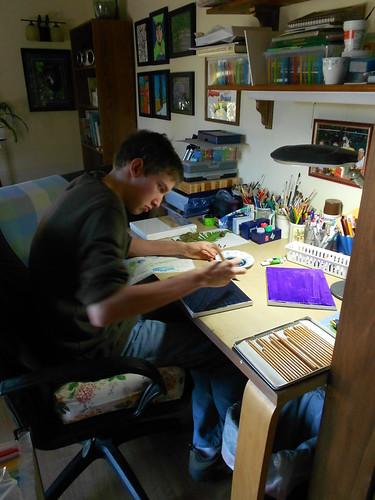 Rothko in Progress