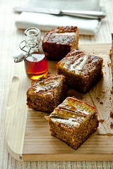 Sour Cream Maple Banana Cake by Meeta K. Wolff