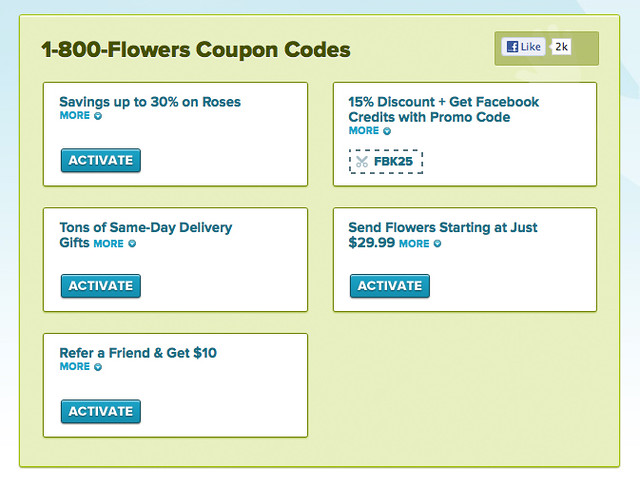 Find the latest Flowers coupons and promo codes at Groupon Coupons and get discounts and free shipping on flowers, gift baskets, and more. Enjoy early fall deals from Flowers now! Enter this promo code at checkout to save an additional 20% off flowers and gifts today/5(26).