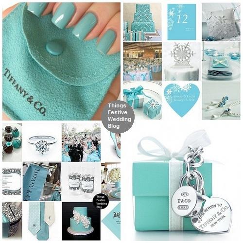 Tiffany Blue Nail Polish For A Tiffany Inspired Wedding Theme