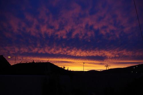 blue ireland winter light sunset sky dublin orange cloud sun black colour night sunrise dawn europe day glow darkness pentax suburban change 日落 云 天空 欧洲 kx 日出 爱尔兰 颜色 晚上 冬季 firhouse 都柏林 改变 一天 发光 频谱 spectrum郊区