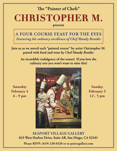 Christopher M. Art Show