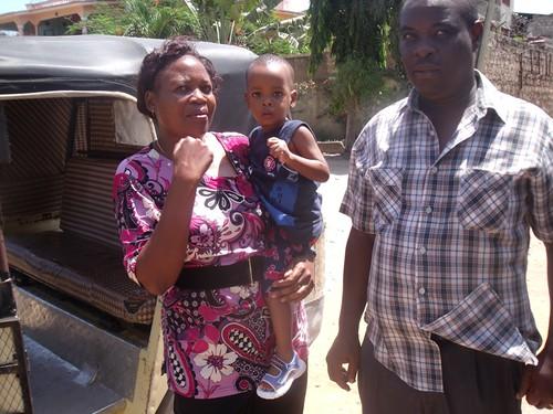 Mr &  Mrs Kabaina with Jimmy