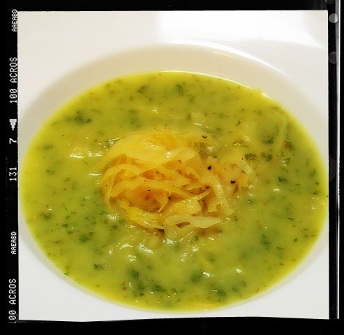 Colcannon Soup (Deconstructed)