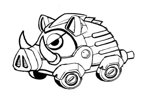 Sonic the Hedgehog 4 Episode II concept art - Fullboar