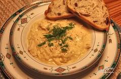 Avgolemono Soup - Egg and Lemon Soup