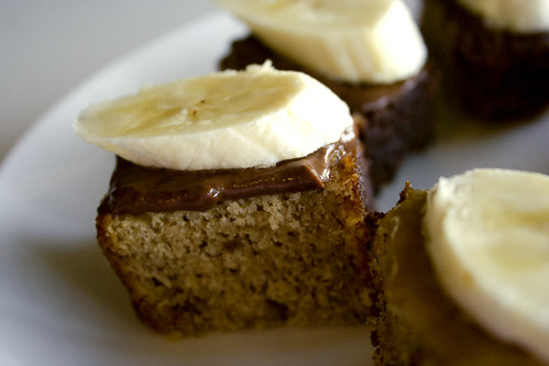 Banana Bread Petit Fours