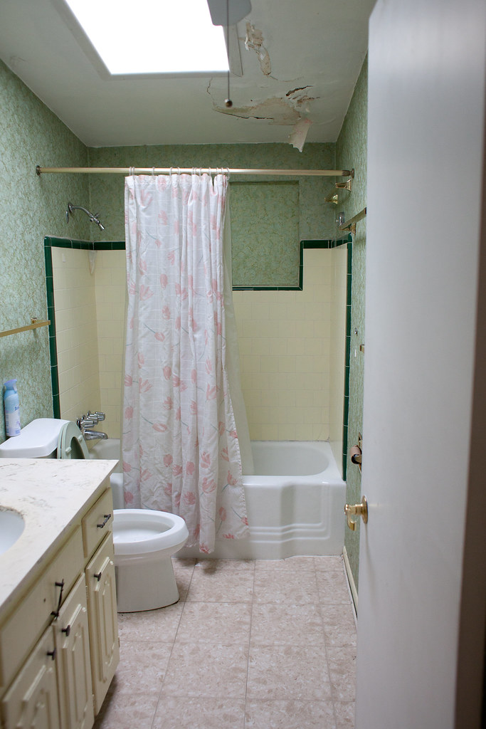 Hall bathroom