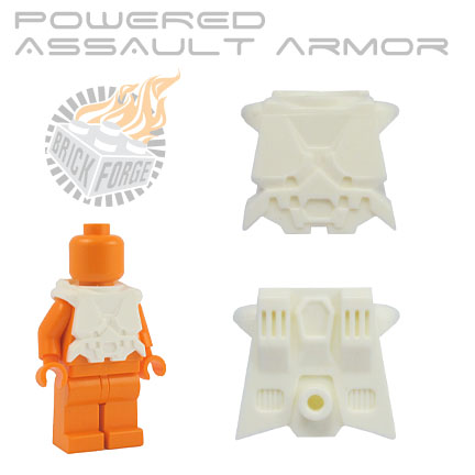 Powered Assault Armor - White