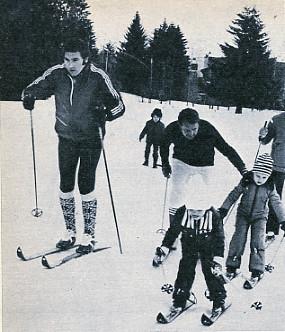 Eddy skiing