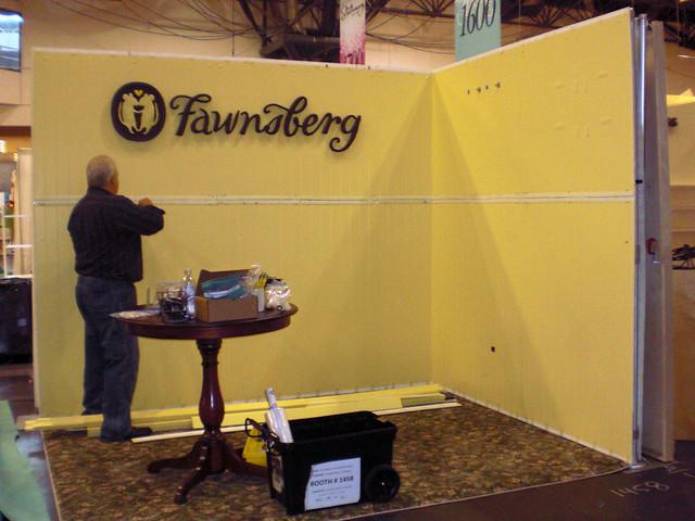 Fawnsberg Tradeshow Booth