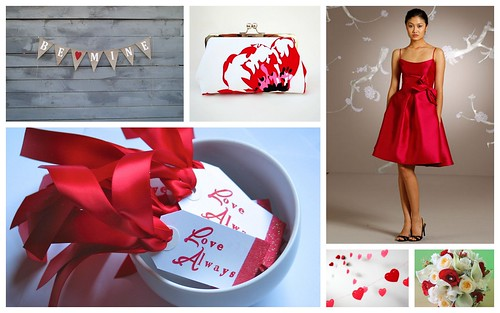 {Valentine's Day} Bridesmaids' Inspiration by Nina Renee Designs