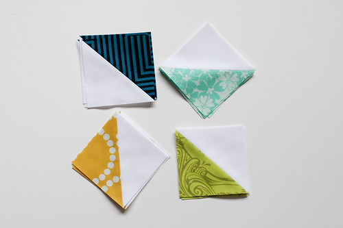 Half-Square Triangle Block of the Month February Quilt Block Tutorial - In Color Order