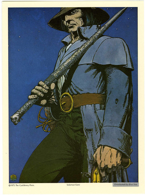 Solomon Kane - Barry Windsor Smith 1975 Robert E. Howard Portfolio