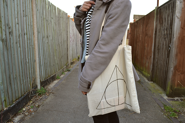 daisybutter - UK Style Blog: what i wore, sheer shirt, drop hem, topshop, winter style