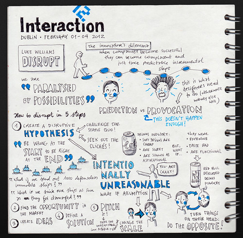 Luke Williams: Disrupt @ Interaction 12