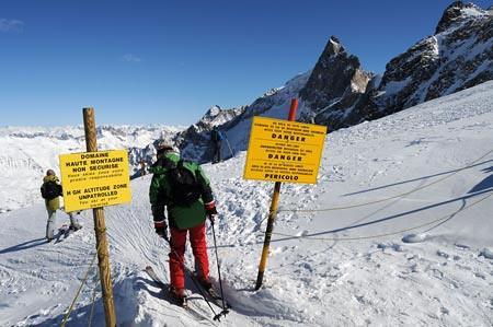 Esquí en La Grave