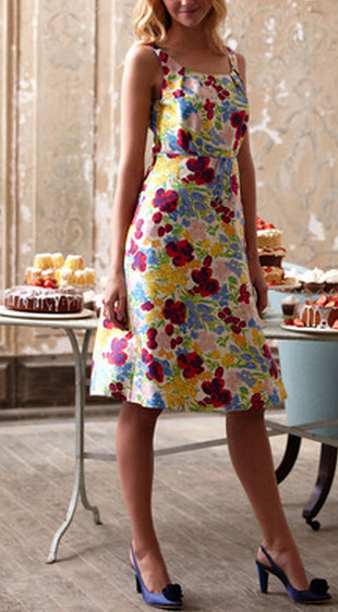 Boden fifties party dress