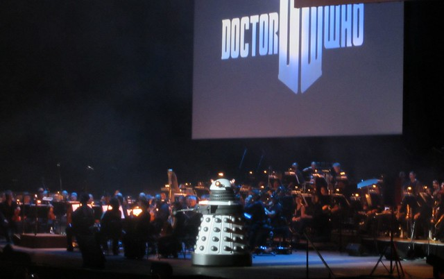 Dalek with the Melbourne Symphony Orchestra