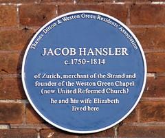 Photo of Blue plaque № 8758
