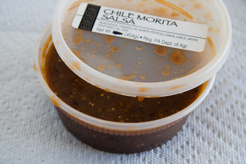 Chile Morita Salsa from Cinco de Mayo Salsas