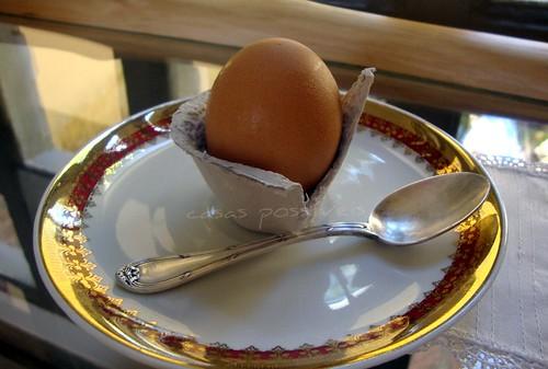 Suporte para ovo quente