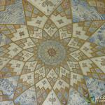 Persian Design Ceiling at Fin Gardens - Kashan, Iran