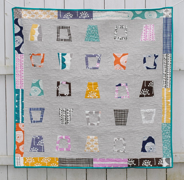 Glass Half Full Quilt Front