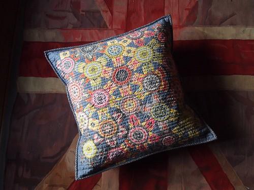 spring carnival pillow