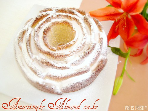 Amazingly Almond Cake