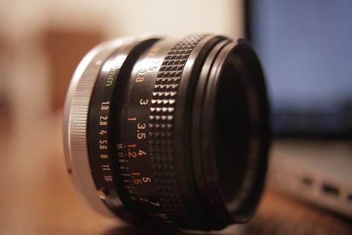 Canon FD 1.8 lens $60