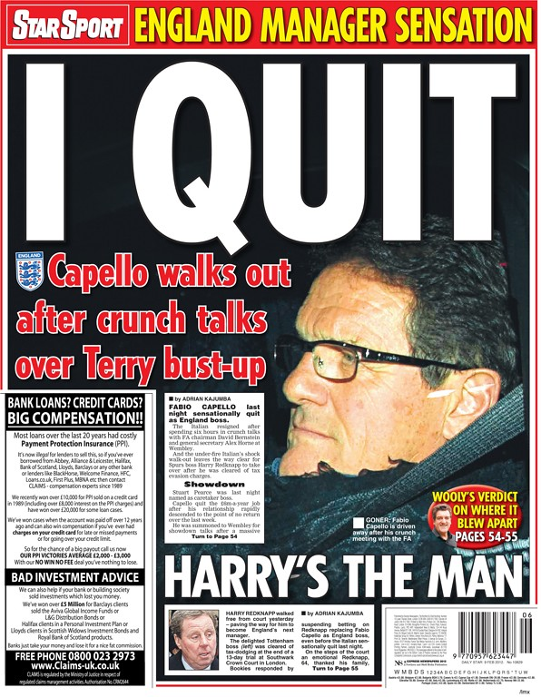 6843483923 ff7b622393 b Picture Special: Capello Out, Redknapp In