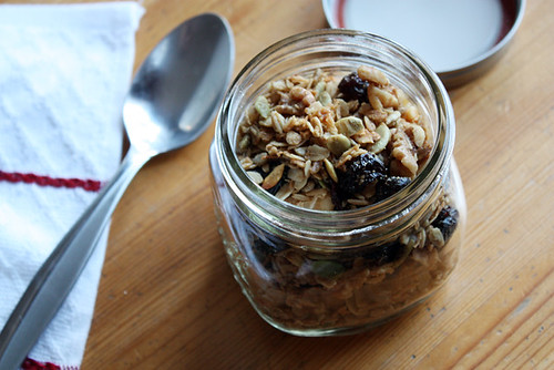granola goodness.